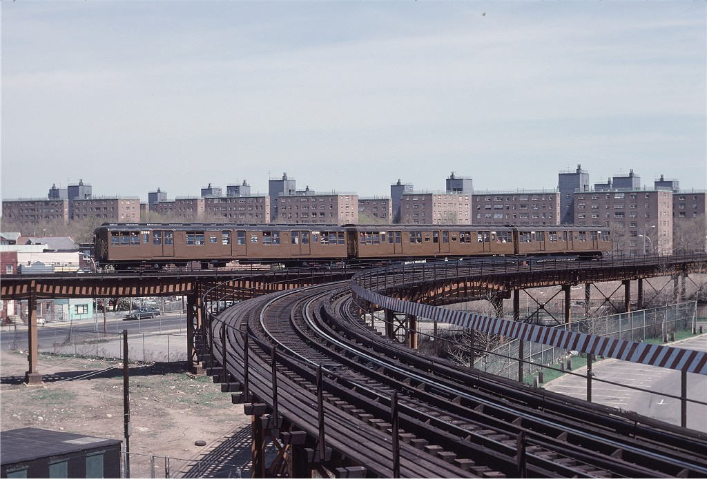 (219k, 1024x695)<br><b>Country:</b> United States<br><b>City:</b> New York<br><b>System:</b> New York City Transit<br><b>Line:</b> BMT West End Line<br><b>Location:</b> Bay 50th Street<br><b>Route:</b> Fan Trip<br><b>Car:</b> BMT A/B-Type Standard 2390 <br><b>Photo by:</b> Joe Testagrose<br><b>Date:</b> 4/16/1977<br><b>Viewed (this week/total):</b> 1 / 1620