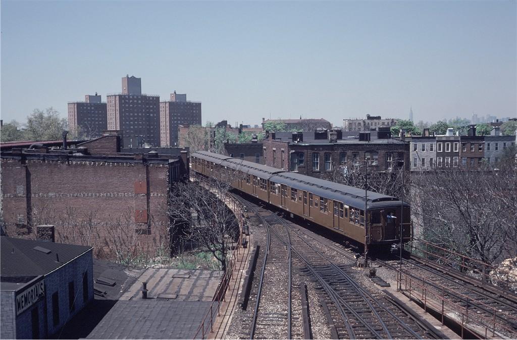 (220k, 1024x674)<br><b>Country:</b> United States<br><b>City:</b> New York<br><b>System:</b> New York City Transit<br><b>Location:</b> East New York Yard/Shops<br><b>Route:</b> Fan Trip<br><b>Car:</b> BMT A/B-Type Standard 2390 <br><b>Photo by:</b> Steve Zabel<br><b>Collection of:</b> Joe Testagrose<br><b>Date:</b> 4/30/1977<br><b>Viewed (this week/total):</b> 1 / 1592