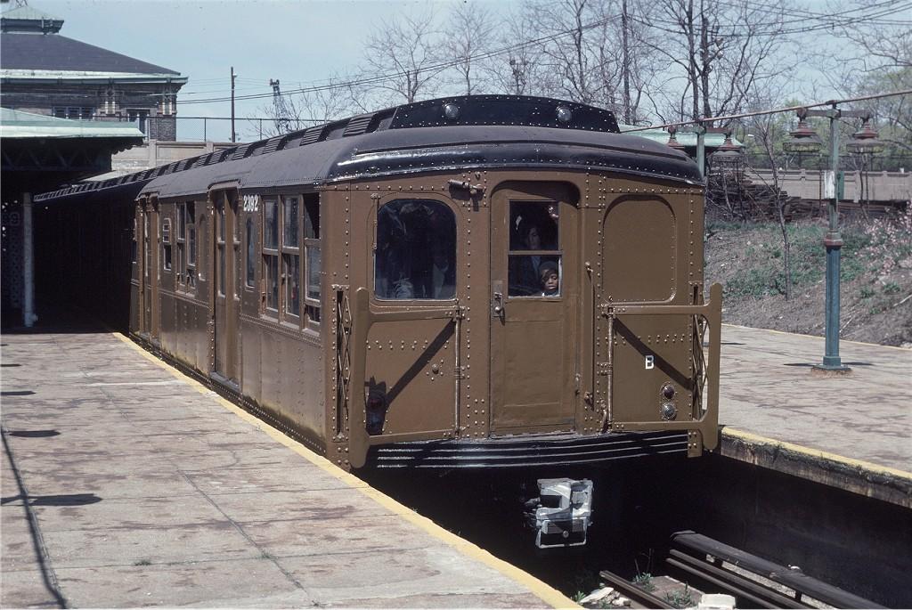 (236k, 1024x685)<br><b>Country:</b> United States<br><b>City:</b> New York<br><b>System:</b> New York City Transit<br><b>Line:</b> BMT West End Line<br><b>Location:</b> 9th Avenue<br><b>Route:</b> Fan Trip<br><b>Car:</b> BMT A/B-Type Standard 2392 <br><b>Photo by:</b> Joe Testagrose<br><b>Date:</b> 4/16/1977<br><b>Viewed (this week/total):</b> 1 / 1406