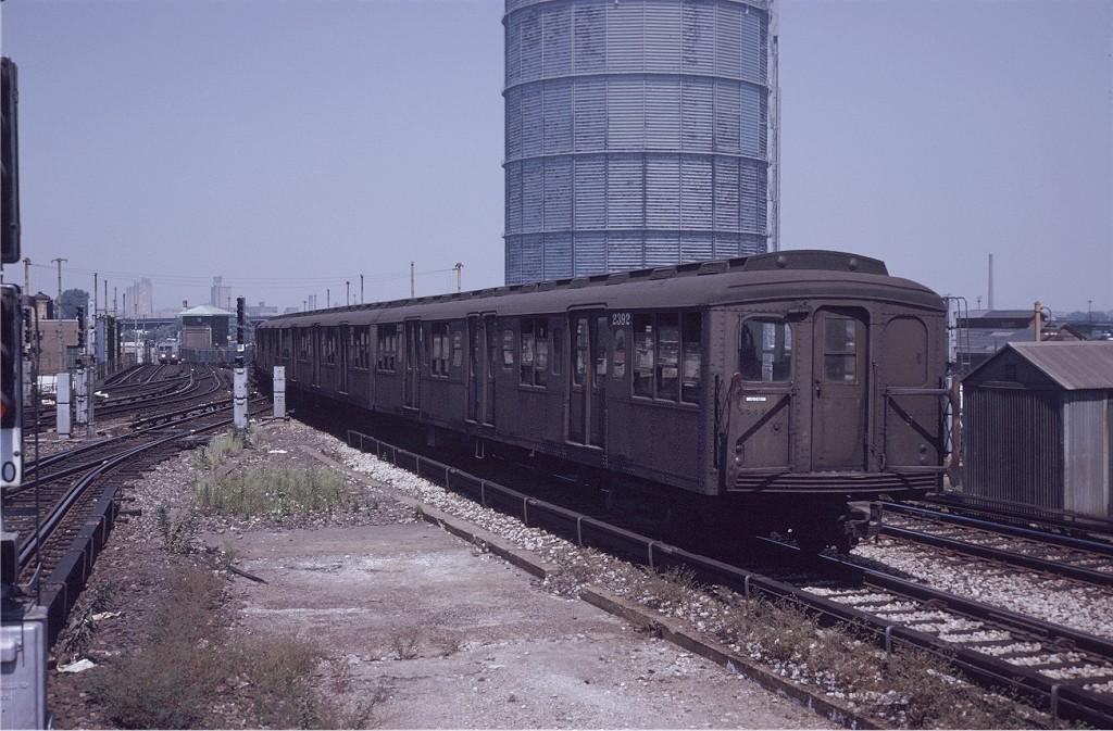 (204k, 1024x673)<br><b>Country:</b> United States<br><b>City:</b> New York<br><b>System:</b> New York City Transit<br><b>Location:</b> Coney Island/Stillwell Avenue<br><b>Route:</b> Fan Trip<br><b>Car:</b> BMT A/B-Type Standard 2392 <br><b>Photo by:</b> Joe Testagrose<br><b>Date:</b> 8/23/1969<br><b>Viewed (this week/total):</b> 1 / 1510