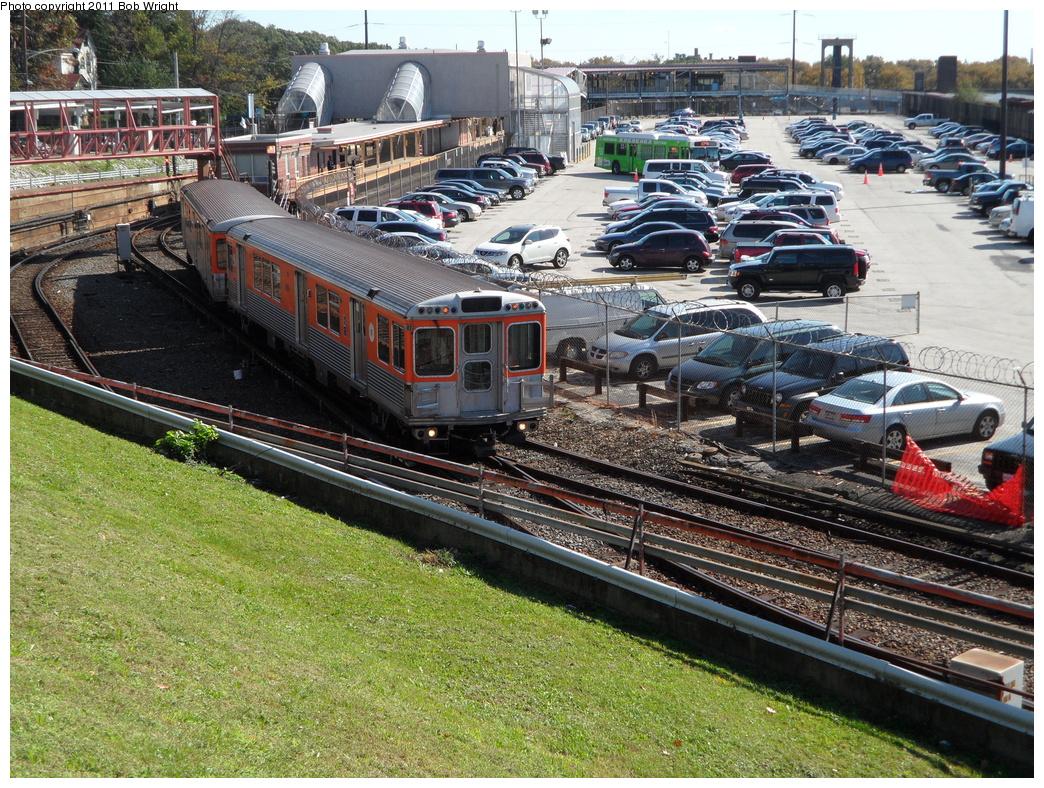(520k, 1044x788)<br><b>Country:</b> United States<br><b>City:</b> Philadelphia, PA<br><b>System:</b> SEPTA (or Predecessor)<br><b>Line:</b> Broad Street Subway<br><b>Location:</b> Fern Rock Transportation Center<br><b>Car:</b> SEPTA B-4 (Kawasaki, 1982)  <br><b>Photo by:</b> Bob Wright<br><b>Date:</b> 10/15/2011<br><b>Viewed (this week/total):</b> 0 / 929