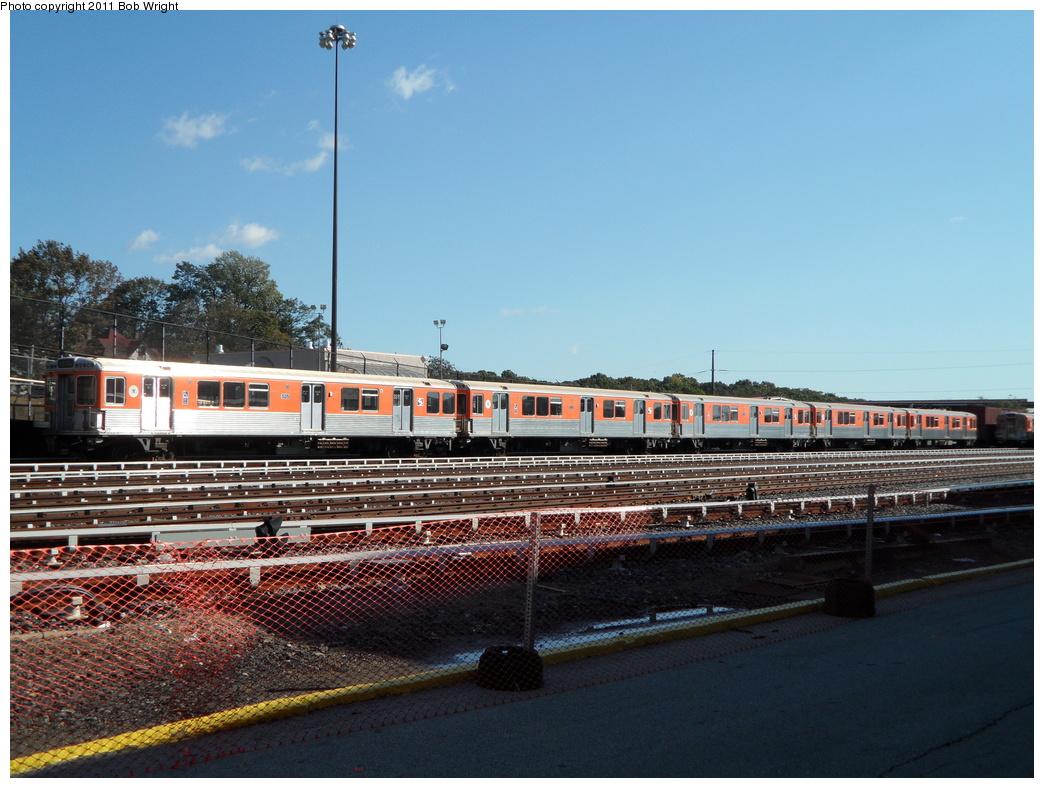 (351k, 1044x788)<br><b>Country:</b> United States<br><b>City:</b> Philadelphia, PA<br><b>System:</b> SEPTA (or Predecessor)<br><b>Line:</b> Broad Street Subway<br><b>Location:</b> Fern Rock Yard/Shops<br><b>Car:</b> SEPTA B-4 (Kawasaki, 1982) 525 <br><b>Photo by:</b> Bob Wright<br><b>Date:</b> 10/15/2011<br><b>Notes:</b> ERA Tour<br><b>Viewed (this week/total):</b> 0 / 747