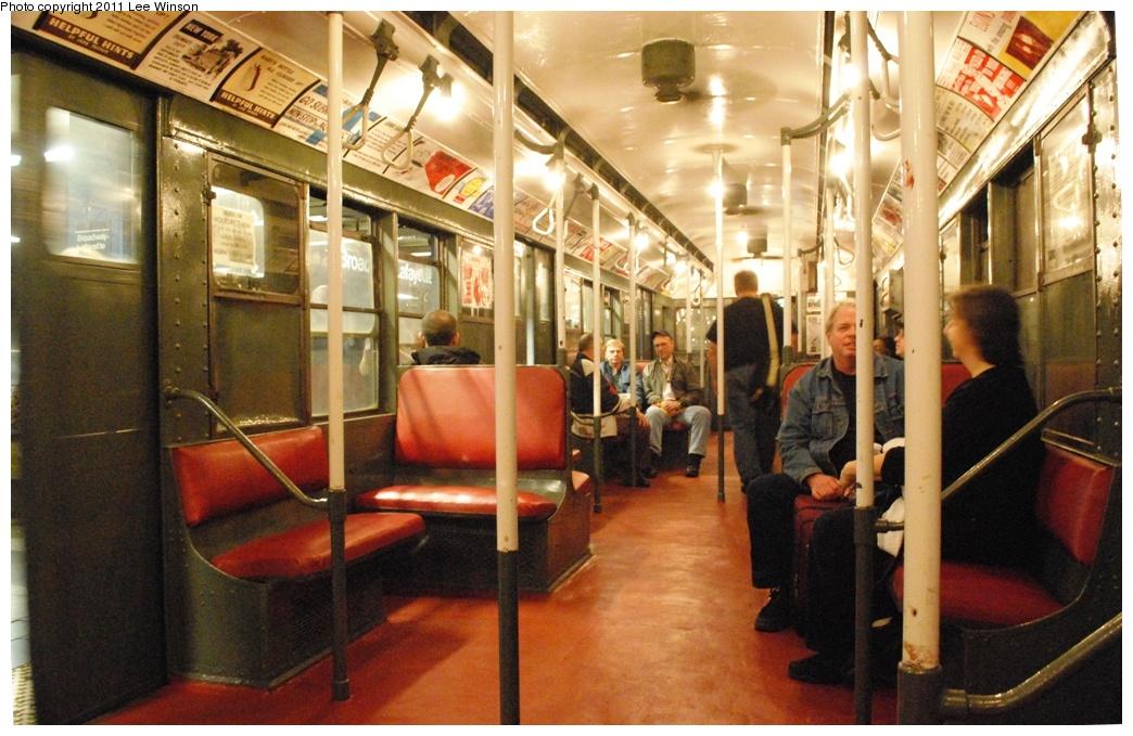 (313k, 1044x679)<br><b>Country:</b> United States<br><b>City:</b> New York<br><b>System:</b> New York City Transit<br><b>Route:</b> Fan Trip<br><b>Car:</b> R-6-1 (Pressed Steel, 1936) 1300 <br><b>Photo by:</b> Lee Winson<br><b>Date:</b> 11/26/2011<br><b>Viewed (this week/total):</b> 1 / 2358