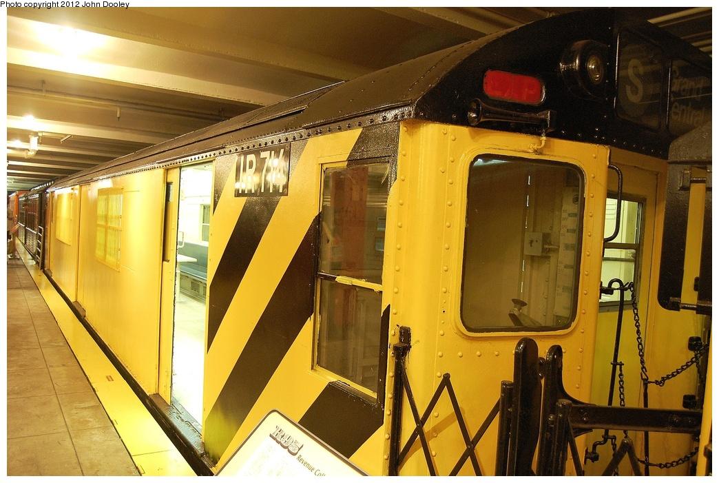 (353k, 1044x701)<br><b>Country:</b> United States<br><b>City:</b> New York<br><b>System:</b> New York City Transit<br><b>Location:</b> New York Transit Museum<br><b>Car:</b> R-95 Locker Car (Revenue Train) 1R715 (ex-7424)<br><b>Photo by:</b> John Dooley<br><b>Date:</b> 10/2/2011<br><b>Viewed (this week/total):</b> 7 / 1995