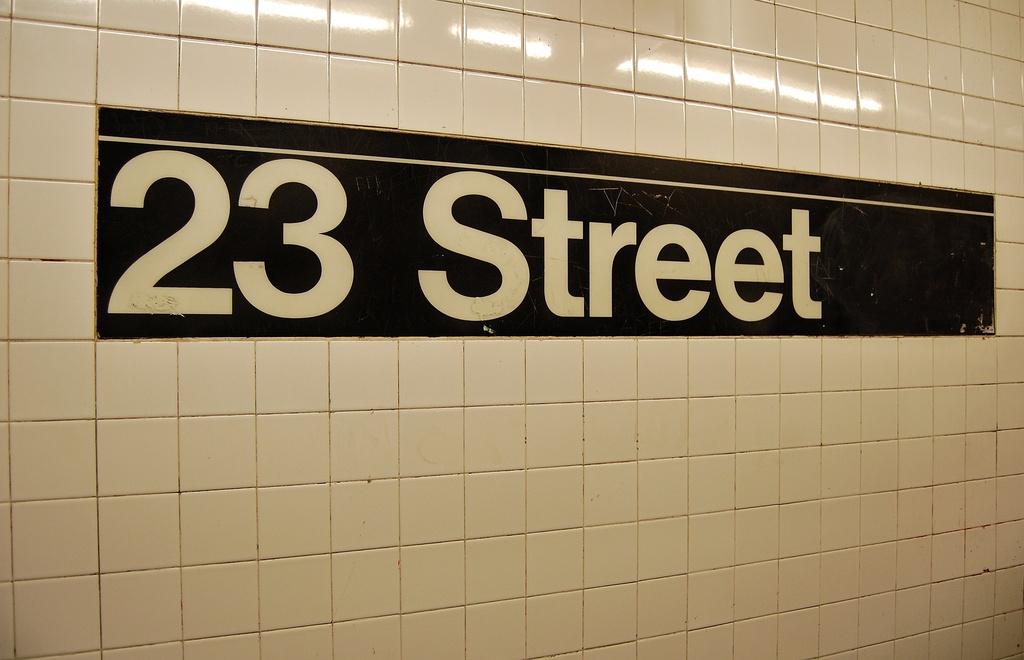 (224k, 1024x660)<br><b>Country:</b> United States<br><b>City:</b> New York<br><b>System:</b> New York City Transit<br><b>Line:</b> IRT West Side Line<br><b>Location:</b> 23rd Street<br><b>Photo by:</b> John Dooley<br><b>Date:</b> 2/26/2012<br><b>Viewed (this week/total):</b> 2 / 1368