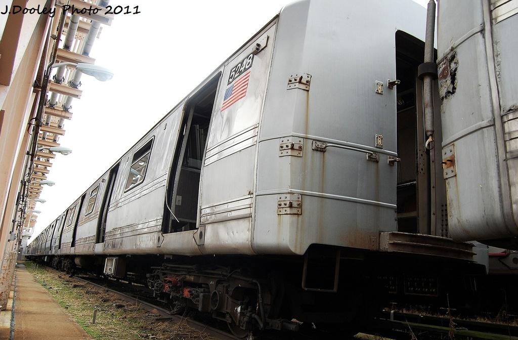 (300k, 1024x672)<br><b>Country:</b> United States<br><b>City:</b> New York<br><b>System:</b> New York City Transit<br><b>Location:</b> 207th Street Yard<br><b>Car:</b> R-44 (St. Louis, 1971-73) 5248 <br><b>Photo by:</b> John Dooley<br><b>Date:</b> 11/29/2011<br><b>Viewed (this week/total):</b> 3 / 3440
