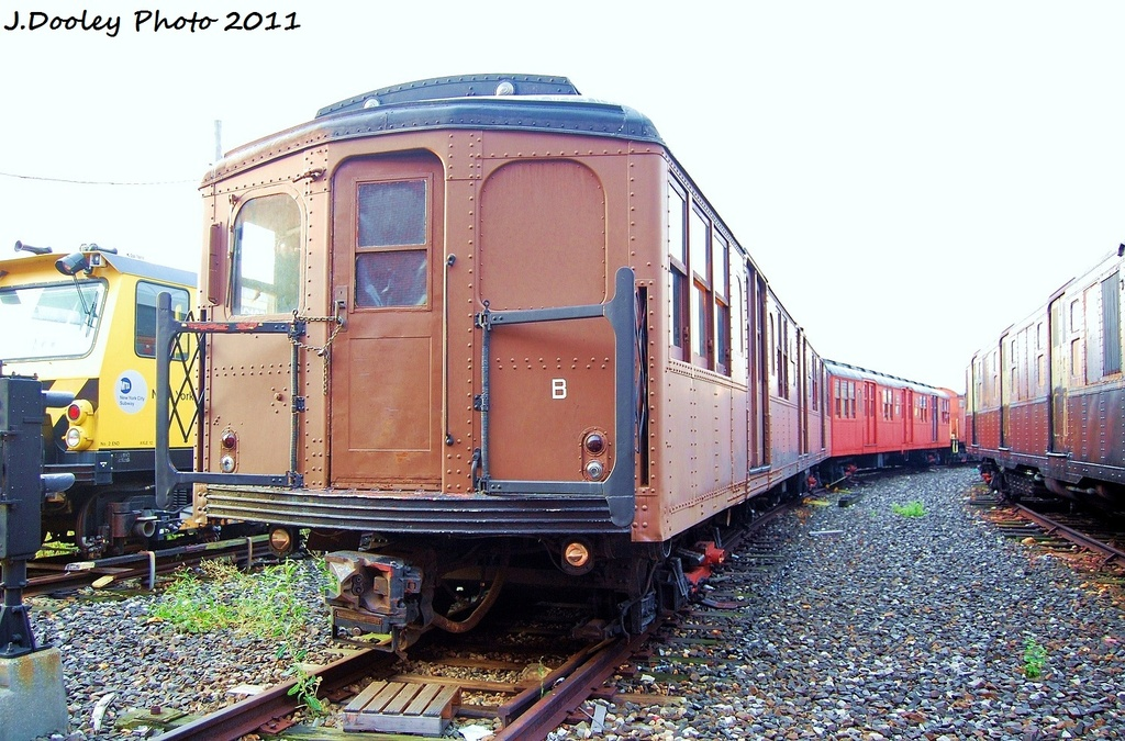 (367k, 1024x675)<br><b>Country:</b> United States<br><b>City:</b> New York<br><b>System:</b> New York City Transit<br><b>Location:</b> Coney Island Yard-Museum Yard<br><b>Car:</b> BMT A/B-Type Standard 2390-2392 <br><b>Photo by:</b> John Dooley<br><b>Date:</b> 8/26/2011<br><b>Viewed (this week/total):</b> 8 / 3272
