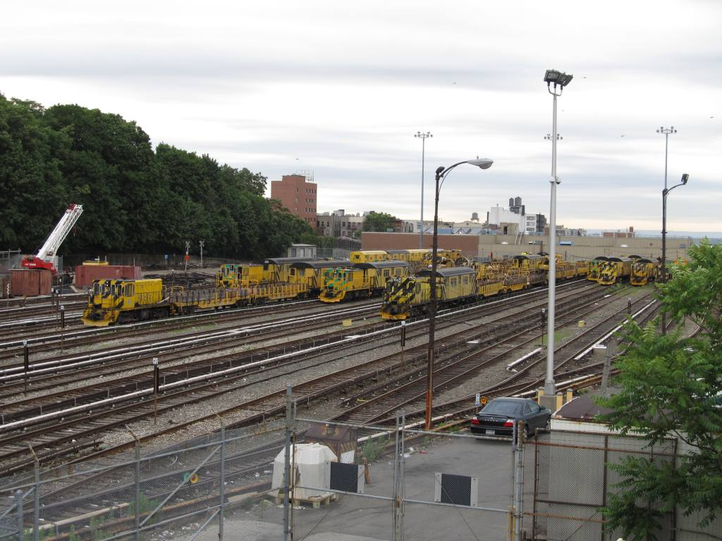 (135k, 1024x768)<br><b>Country:</b> United States<br><b>City:</b> New York<br><b>System:</b> New York City Transit<br><b>Location:</b> 36th Street Yard<br><b>Photo by:</b> Robbie Rosenfeld<br><b>Date:</b> 6/11/2012<br><b>Viewed (this week/total):</b> 4 / 1315