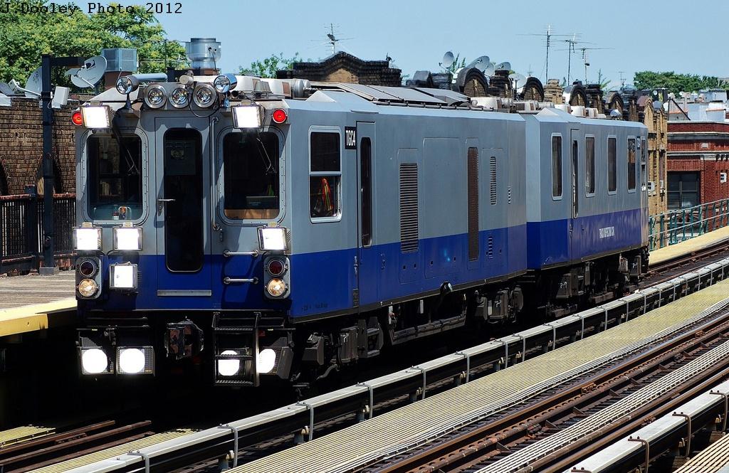(393k, 1024x665)<br><b>Country:</b> United States<br><b>City:</b> New York<br><b>System:</b> New York City Transit<br><b>Line:</b> BMT West End Line<br><b>Location:</b> 55th Street<br><b>Route:</b> Work Service<br><b>Car:</b> Track Geometry Car TGC4 <br><b>Photo by:</b> John Dooley<br><b>Date:</b> 5/31/2012<br><b>Viewed (this week/total):</b> 2 / 2192