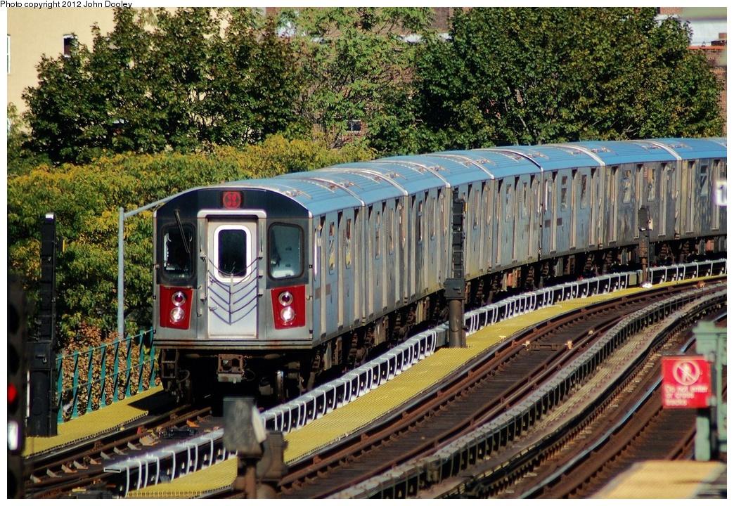 (462k, 1044x720)<br><b>Country:</b> United States<br><b>City:</b> New York<br><b>System:</b> New York City Transit<br><b>Line:</b> IRT White Plains Road Line<br><b>Location:</b> Jackson Avenue<br><b>Route:</b> 2<br><b>Car:</b> R-142 (Primary Order, Bombardier, 1999-2002)  <br><b>Photo by:</b> John Dooley<br><b>Date:</b> 10/11/2012<br><b>Viewed (this week/total):</b> 2 / 1478