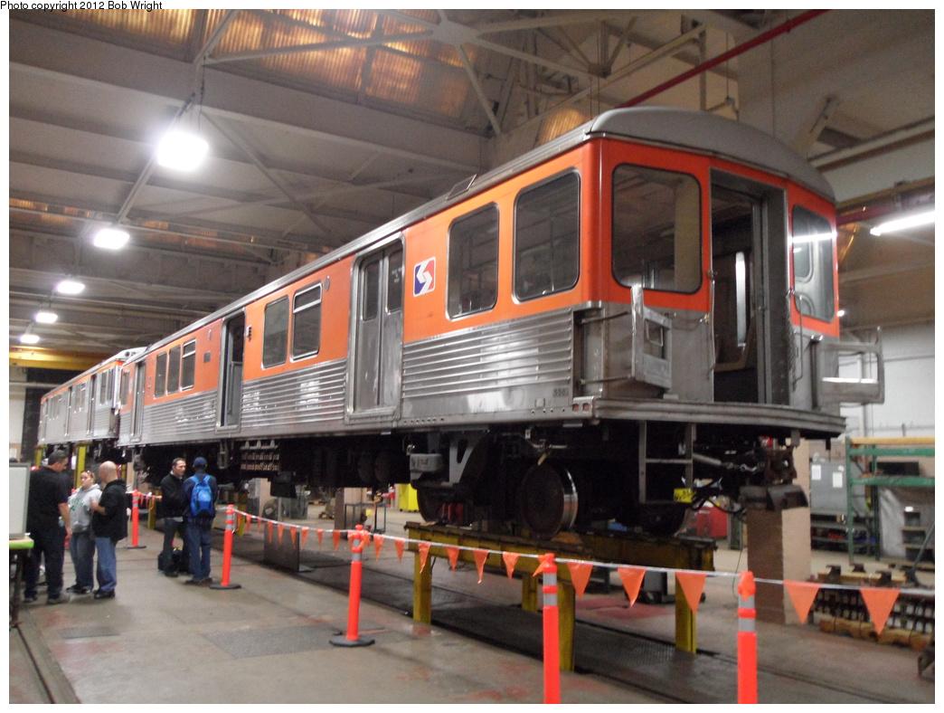 (331k, 1044x788)<br><b>Country:</b> United States<br><b>City:</b> Philadelphia, PA<br><b>System:</b> SEPTA (or Predecessor)<br><b>Line:</b> Broad Street Subway<br><b>Location:</b> Fern Rock Yard/Shops<br><b>Car:</b> SEPTA B-4 (Kawasaki, 1982) 5xx <br><b>Photo by:</b> Bob Wright<br><b>Date:</b> 10/13/2012<br><b>Notes:</b> SEPTA Rail Roadeo.<br><b>Viewed (this week/total):</b> 0 / 840
