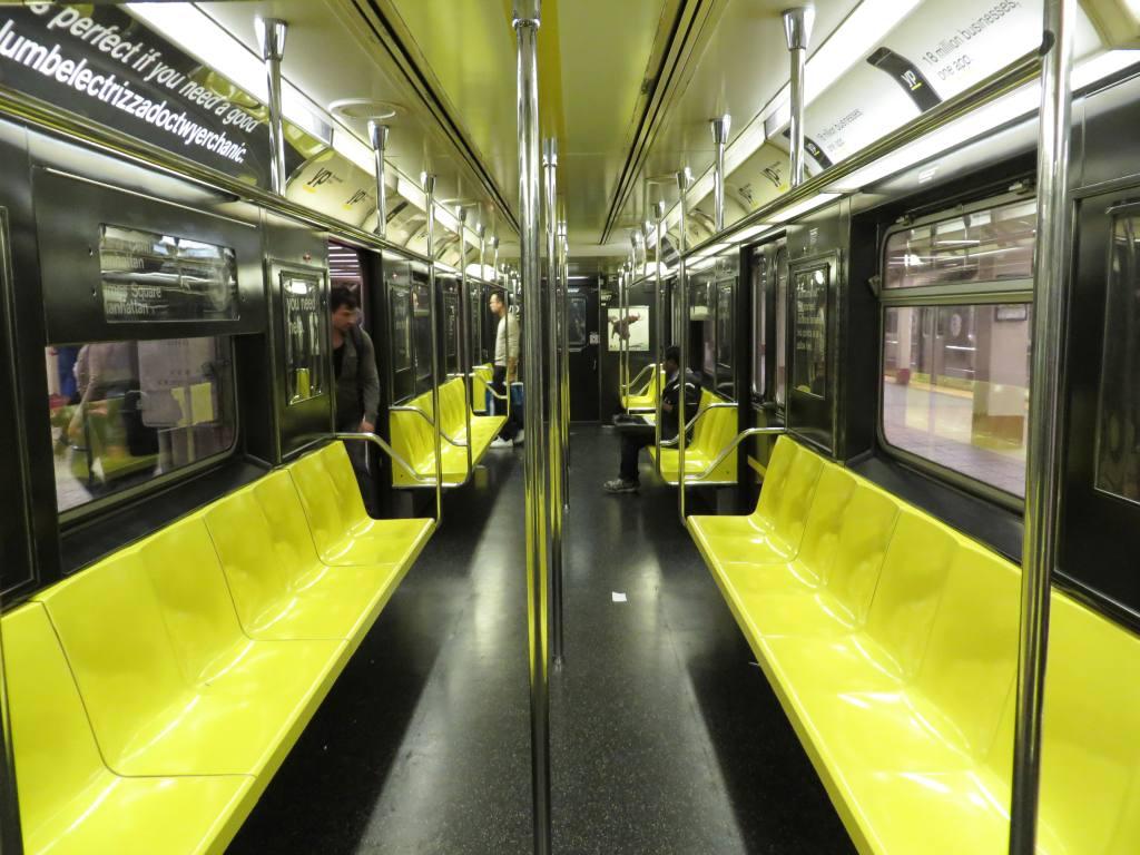 (129k, 1024x768)<br><b>Country:</b> United States<br><b>City:</b> New York<br><b>System:</b> New York City Transit<br><b>Line:</b> IRT Times Square-Grand Central Shuttle<br><b>Location:</b> Grand Central<br><b>Route:</b> S<br><b>Car:</b> R-29 (St. Louis, 1962) 1937 <br><b>Photo by:</b> Robbie Rosenfeld<br><b>Date:</b> 9/15/2013<br><b>Notes:</b> Yellow Pages ad wrap<br><b>Viewed (this week/total):</b> 8 / 1816