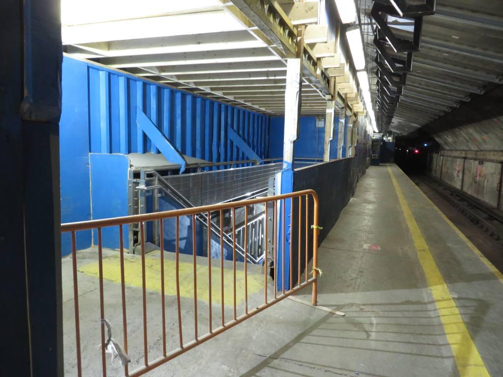 (117k, 1024x768)<br><b>Country:</b> United States<br><b>City:</b> New York<br><b>System:</b> New York City Transit<br><b>Line:</b> IND 63rd Street Line<br><b>Location:</b> Lexington Avenue-63rd Street<br><b>Photo by:</b> Robbie Rosenfeld<br><b>Date:</b> 1/19/2014<br><b>Notes:</b> Station renovation for 2nd Ave subway<br><b>Viewed (this week/total):</b> 6 / 1880