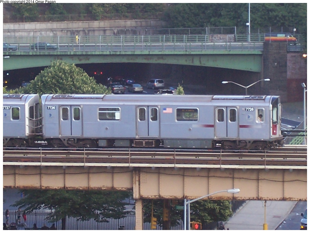 (273k, 1044x788)<br><b>Country:</b> United States<br><b>City:</b> New York<br><b>System:</b> New York City Transit<br><b>Line:</b> IRT Woodlawn Line<br><b>Location:</b> Mt. Eden Avenue<br><b>Route:</b> 4<br><b>Car:</b> R-142A (Option Order, Kawasaki, 2002-2003) 7726 <br><b>Photo by:</b> Omar Pagan<br><b>Date:</b> 8/27/2005<br><b>Viewed (this week/total):</b> 1 / 1862