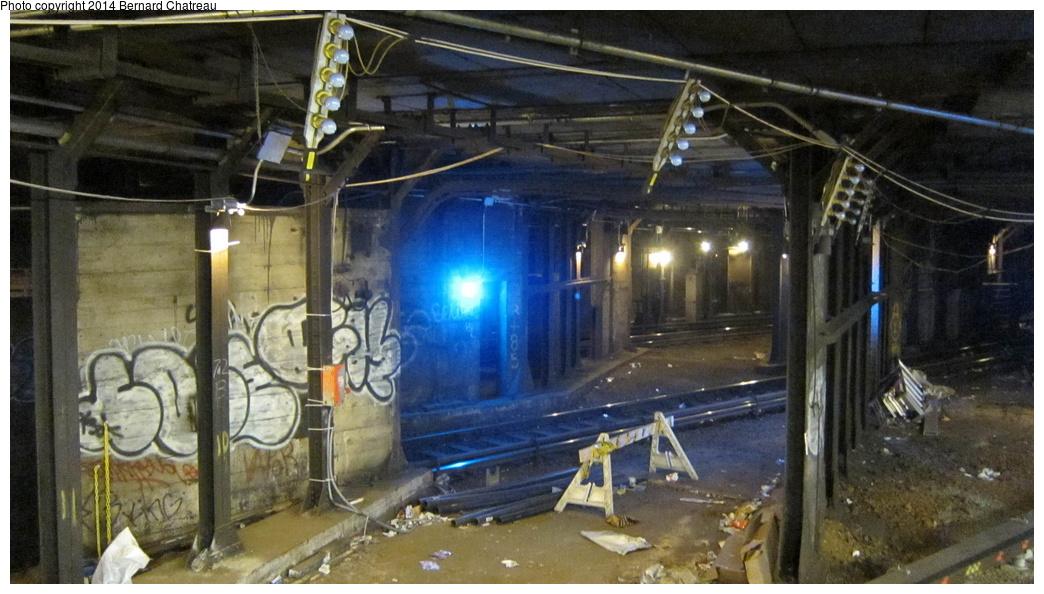 (274k, 1044x594)<br><b>Country:</b> United States<br><b>City:</b> New York<br><b>System:</b> New York City Transit<br><b>Line:</b> IRT Times Square-Grand Central Shuttle<br><b>Location:</b> Times Square<br><b>Photo by:</b> Bernard Chatreau<br><b>Date:</b> 4/8/2011<br><b>Viewed (this week/total):</b> 17 / 2252