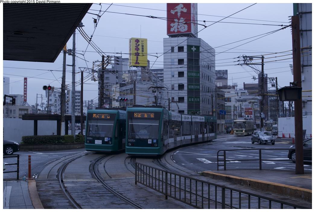(282k, 1044x703)<br><b>Country:</b> Japan<br><b>City:</b> Hiroshima<br><b>System:</b> Hiroden (Hiroshima Electric Railway)<br><b>Location:</b> M1 Hiroshima Eki-mae 広島駅<br><b>Car:</b>  5006/5006 <br><b>Photo by:</b> David Pirmann<br><b>Date:</b> 6/11/2015<br><b>Viewed (this week/total):</b> 2 / 595