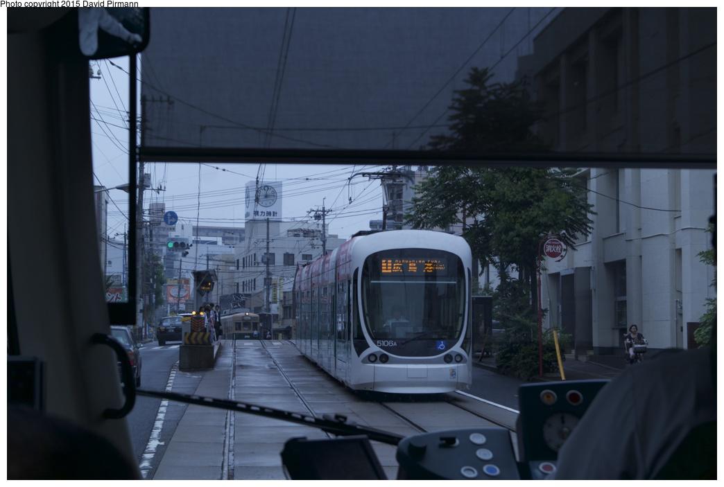 (188k, 1044x703)<br><b>Country:</b> Japan<br><b>City:</b> Hiroshima<br><b>System:</b> Hiroden (Hiroshima Electric Railway)<br><b>Location:</b> U10 Hirodaifuzokugakkou-mae 広大附属学校前<br><b>Car:</b>  5106 <br><b>Photo by:</b> David Pirmann<br><b>Date:</b> 6/11/2015<br><b>Viewed (this week/total):</b> 1 / 556