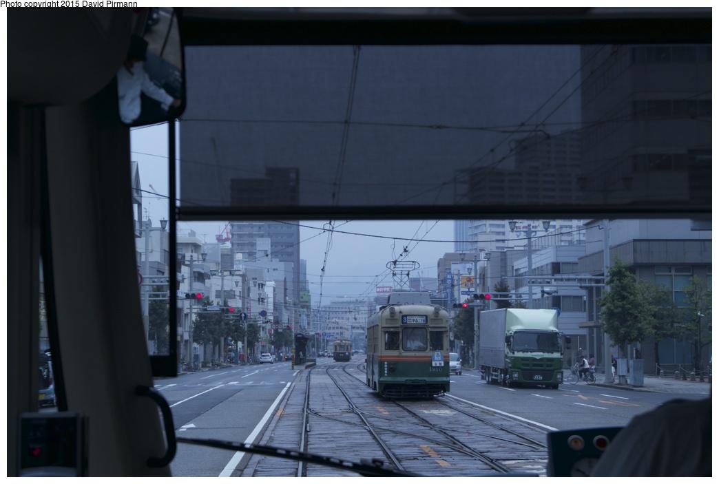 (183k, 1044x703)<br><b>Country:</b> Japan<br><b>City:</b> Hiroshima<br><b>System:</b> Hiroden (Hiroshima Electric Railway)<br><b>Location:</b> U7 Hiroden-honsha-mae 広電本社前<br><b>Car:</b>  1910 <br><b>Photo by:</b> David Pirmann<br><b>Date:</b> 6/11/2015<br><b>Viewed (this week/total):</b> 1 / 525
