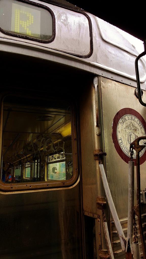 (243k, 577x1025)<br><b>Country:</b> United States<br><b>City:</b> New York<br><b>System:</b> New York City Transit<br><b>Line:</b> BMT Brighton Line<br><b>Location:</b> Brighton Beach<br><b>Route:</b> Museum Train Service<br><b>Car:</b> R-38 (St. Louis, 1966-1967) 4029 <br><b>Photo by:</b> John Dooley<br><b>Date:</b> 6/27/2015<br><b>Viewed (this week/total):</b> 2 / 1436