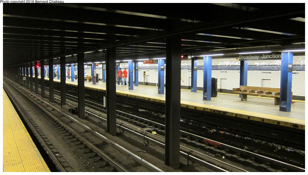 (266k, 1044x594)<br><b>Country:</b> United States<br><b>City:</b> New York<br><b>System:</b> New York City Transit<br><b>Line:</b> IND Fulton Street Line<br><b>Location:</b> Broadway-East New York (Broadway Junction)<br><b>Photo by:</b> Bernard Chatreau<br><b>Date:</b> 9/25/2011<br><b>Viewed (this week/total):</b> 1 / 1228