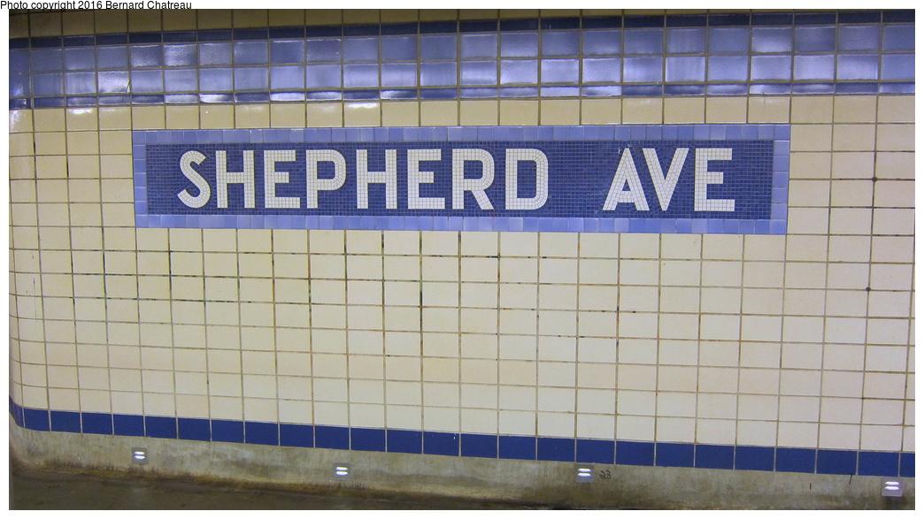 (247k, 1044x587)<br><b>Country:</b> United States<br><b>City:</b> New York<br><b>System:</b> New York City Transit<br><b>Line:</b> IND Fulton Street Line<br><b>Location:</b> Shepherd Avenue<br><b>Photo by:</b> Bernard Chatreau<br><b>Date:</b> 9/25/2011<br><b>Viewed (this week/total):</b> 0 / 1350