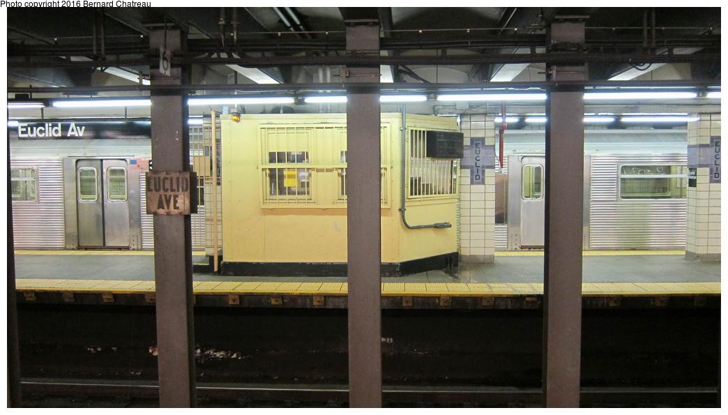 (238k, 1044x595)<br><b>Country:</b> United States<br><b>City:</b> New York<br><b>System:</b> New York City Transit<br><b>Line:</b> IND Fulton Street Line<br><b>Location:</b> Euclid Avenue<br><b>Photo by:</b> Bernard Chatreau<br><b>Date:</b> 9/25/2011<br><b>Viewed (this week/total):</b> 0 / 798