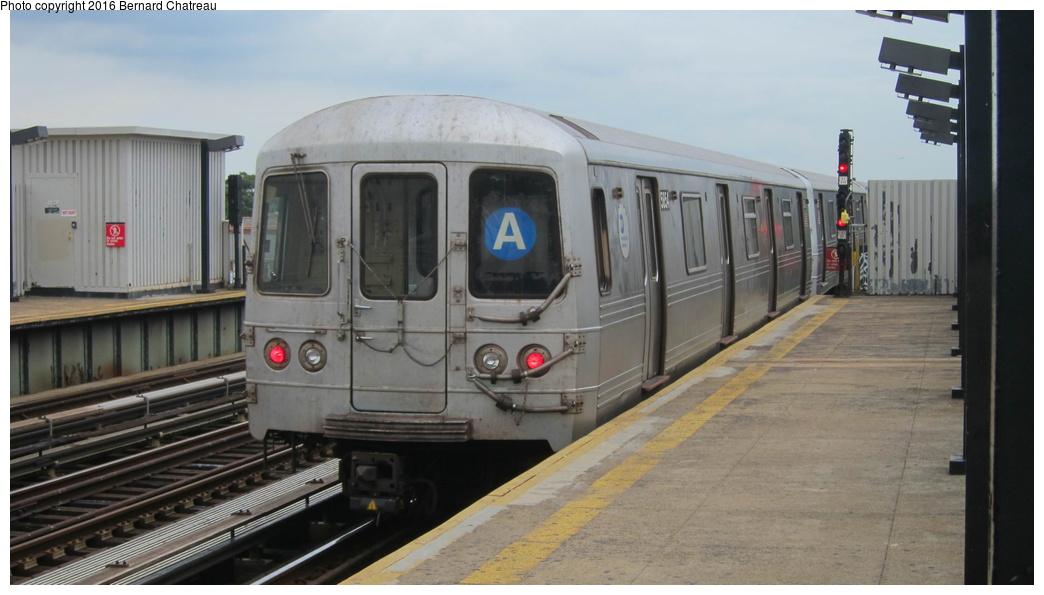 (213k, 1044x595)<br><b>Country:</b> United States<br><b>City:</b> New York<br><b>System:</b> New York City Transit<br><b>Line:</b> IND Fulton Street Line<br><b>Location:</b> 80th Street-Hudson Street<br><b>Route:</b> A<br><b>Car:</b> R-46 (Pullman-Standard, 1974-75) 5854 <br><b>Photo by:</b> Bernard Chatreau<br><b>Date:</b> 9/25/2011<br><b>Viewed (this week/total):</b> 0 / 888