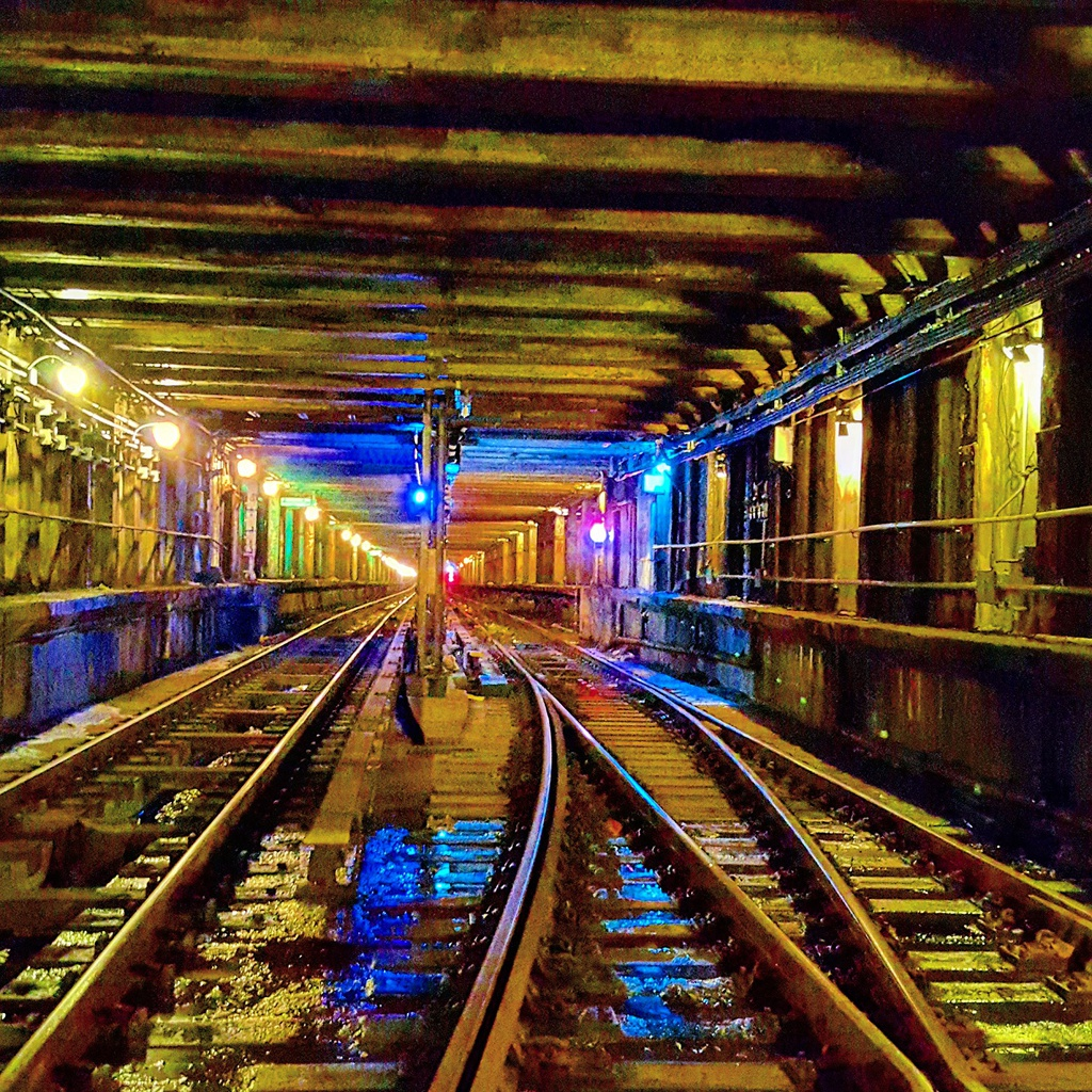 (646k, 1024x1024)<br><b>Country:</b> United States<br><b>City:</b> New York<br><b>System:</b> New York City Transit<br><b>Line:</b> IND Crosstown Line<br><b>Location:</b> Bergen Street<br><b>Photo by:</b> John Dooley<br><b>Date:</b> 2015<br><b>Notes:</b> Lower level - looking north<br><b>Viewed (this week/total):</b> 2 / 2092