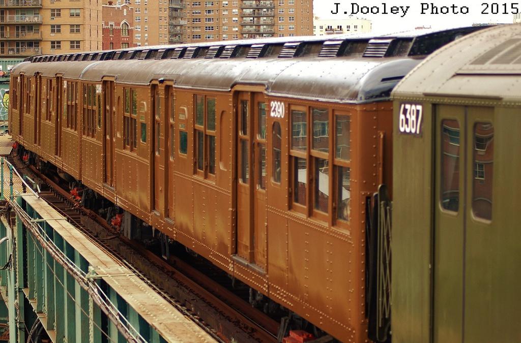 (347k, 1024x675)<br><b>Country:</b> United States<br><b>City:</b> New York<br><b>System:</b> New York City Transit<br><b>Line:</b> BMT Brighton Line<br><b>Location:</b> West 8th Street<br><b>Route:</b> Fan Trip<br><b>Car:</b> BMT A/B-Type Standard 2390 <br><b>Photo by:</b> John Dooley<br><b>Date:</b> 6/28/2015<br><b>Viewed (this week/total):</b> 0 / 1051