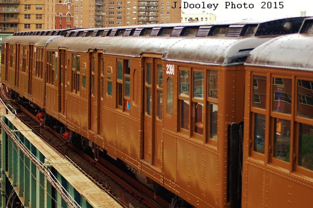 (361k, 1024x680)<br><b>Country:</b> United States<br><b>City:</b> New York<br><b>System:</b> New York City Transit<br><b>Line:</b> BMT Brighton Line<br><b>Location:</b> West 8th Street<br><b>Route:</b> Fan Trip<br><b>Car:</b> BMT A/B-Type Standard 2391 <br><b>Photo by:</b> John Dooley<br><b>Date:</b> 6/28/2015<br><b>Viewed (this week/total):</b> 0 / 911