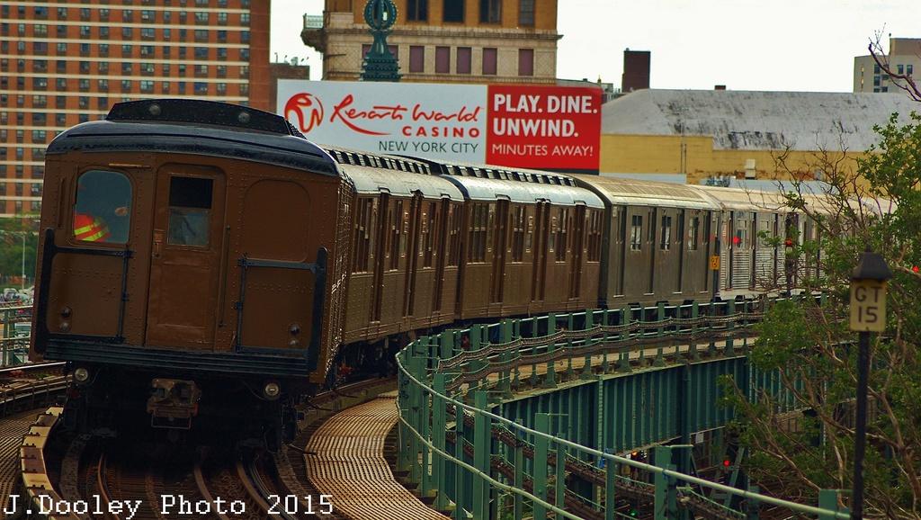 (343k, 1024x578)<br><b>Country:</b> United States<br><b>City:</b> New York<br><b>System:</b> New York City Transit<br><b>Line:</b> BMT Brighton Line<br><b>Location:</b> West 8th Street<br><b>Route:</b> Fan Trip<br><b>Car:</b> BMT A/B-Type Standard 2392 <br><b>Photo by:</b> John Dooley<br><b>Date:</b> 6/28/2015<br><b>Viewed (this week/total):</b> 0 / 1136