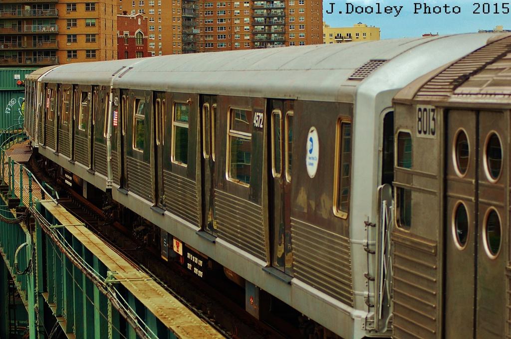 (368k, 1024x680)<br><b>Country:</b> United States<br><b>City:</b> New York<br><b>System:</b> New York City Transit<br><b>Line:</b> BMT Brighton Line<br><b>Location:</b> West 8th Street<br><b>Route:</b> Fan Trip<br><b>Car:</b> R-42 (St. Louis, 1969-1970) 4572 <br><b>Photo by:</b> John Dooley<br><b>Date:</b> 6/28/2015<br><b>Viewed (this week/total):</b> 2 / 1134
