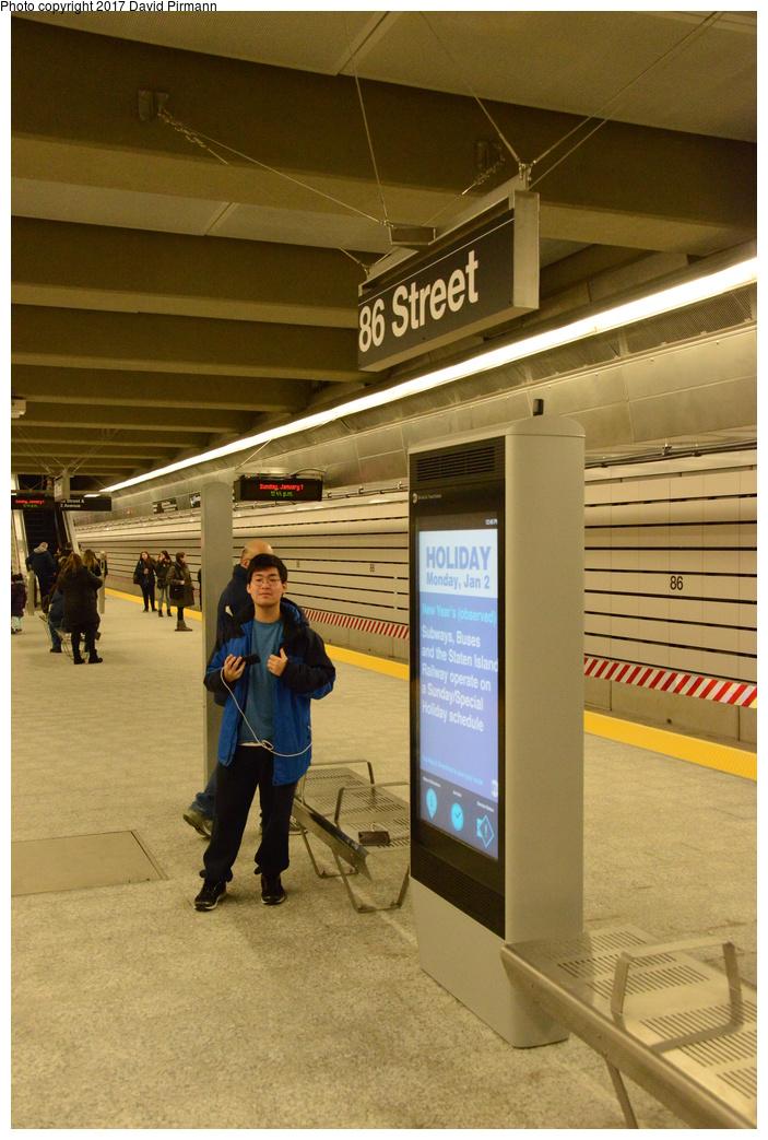 (300k, 703x1043)<br><b>Country:</b> United States<br><b>City:</b> New York<br><b>System:</b> New York City Transit<br><b>Line:</b> 2nd Avenue Subway<br><b>Location:</b> 86th Street<br><b>Photo by:</b> David Pirmann<br><b>Date:</b> 1/1/2017<br><b>Viewed (this week/total):</b> 3 / 786