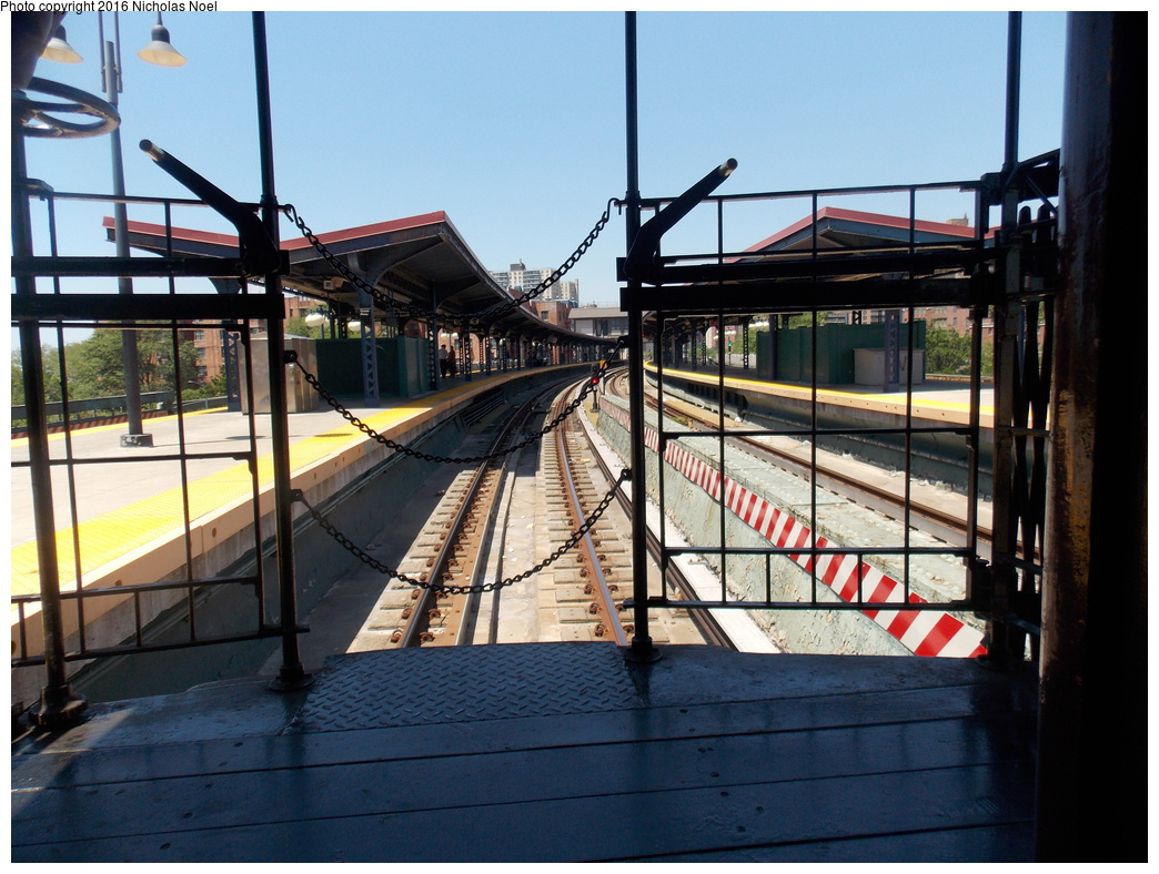 (388k, 1044x788)<br><b>Country:</b> United States<br><b>City:</b> New York<br><b>System:</b> New York City Transit<br><b>Line:</b> BMT Brighton Line<br><b>Location:</b> Ocean Parkway<br><b>Route:</b> Museum Train Service<br><b>Car:</b> BMT Elevated Gate Car  <br><b>Photo by:</b> Nicholas Noel<br><b>Date:</b> 6/25/2016<br><b>Notes:</b> New York Transit Museum 40th Anniv. parade of trains.<br><b>Viewed (this week/total):</b> 3 / 1217