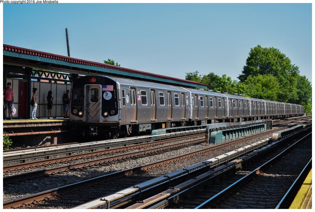 (422k, 1044x703)<br><b>Country:</b> United States<br><b>City:</b> New York<br><b>System:</b> New York City Transit<br><b>Line:</b> BMT Brighton Line<br><b>Location:</b> Avenue U<br><b>Route:</b> Q<br><b>Car:</b> R-160B (Kawasaki, 2005-2008) 8957 <br><b>Photo by:</b> Joe Mirabella<br><b>Date:</b> 6/26/2016<br><b>Viewed (this week/total):</b> 1 / 1124