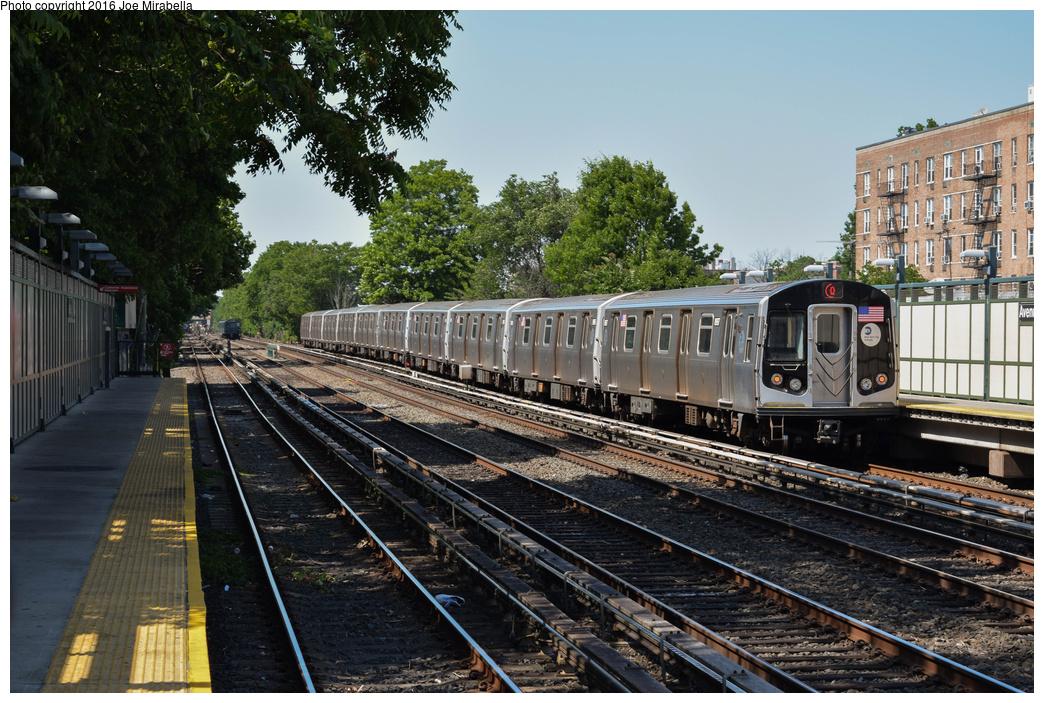 (456k, 1044x703)<br><b>Country:</b> United States<br><b>City:</b> New York<br><b>System:</b> New York City Transit<br><b>Line:</b> BMT Brighton Line<br><b>Location:</b> Avenue U<br><b>Route:</b> Q<br><b>Car:</b> R-160B (Option 1) (Kawasaki, 2008-2009) 8997 <br><b>Photo by:</b> Joe Mirabella<br><b>Date:</b> 6/26/2016<br><b>Viewed (this week/total):</b> 0 / 1161
