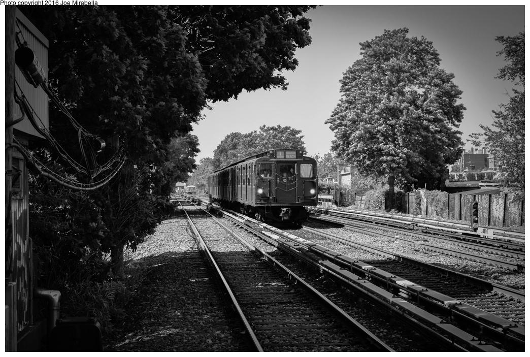 (360k, 1044x703)<br><b>Country:</b> United States<br><b>City:</b> New York<br><b>System:</b> New York City Transit<br><b>Line:</b> BMT Brighton Line<br><b>Location:</b> Avenue U<br><b>Route:</b> Museum Train Service<br><b>Car:</b> R-1 (American Car & Foundry, 1930-1931) 381 <br><b>Photo by:</b> Joe Mirabella<br><b>Date:</b> 6/26/2016<br><b>Notes:</b> NY Transit Museum 40th anniversary parade of trains.<br><b>Viewed (this week/total):</b> 2 / 1528