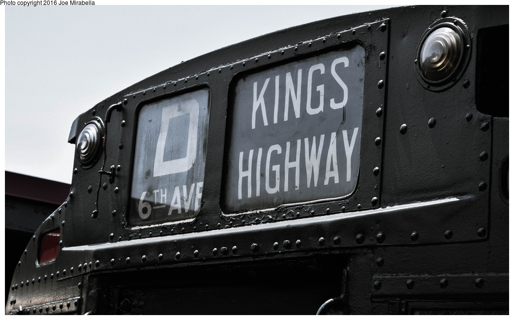 (253k, 1044x651)<br><b>Country:</b> United States<br><b>City:</b> New York<br><b>System:</b> New York City Transit<br><b>Line:</b> BMT Brighton Line<br><b>Location:</b> Brighton Beach<br><b>Route:</b> Museum Train Service<br><b>Car:</b> R-9 (Pressed Steel, 1940) 1802 <br><b>Photo by:</b> Joe Mirabella<br><b>Date:</b> 6/26/2016<br><b>Notes:</b> NY Transit Museum 40th anniversary parade of trains.<br><b>Viewed (this week/total):</b> 0 / 1101
