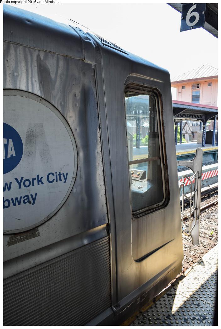 (336k, 703x1045)<br><b>Country:</b> United States<br><b>City:</b> New York<br><b>System:</b> New York City Transit<br><b>Line:</b> BMT Brighton Line<br><b>Location:</b> Brighton Beach<br><b>Route:</b> Museum Train Service<br><b>Car:</b> R-40 (St. Louis, 1968) 4280 <br><b>Photo by:</b> Joe Mirabella<br><b>Date:</b> 6/26/2016<br><b>Notes:</b> NY Transit Museum 40th anniversary parade of trains.<br><b>Viewed (this week/total):</b> 0 / 1229