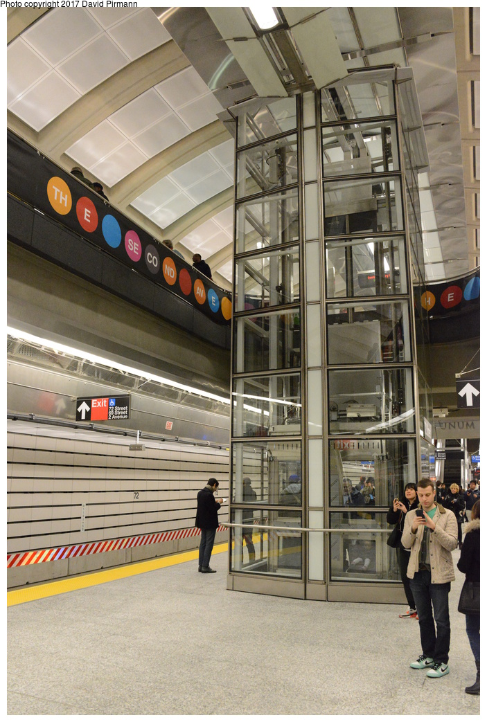 (335k, 703x1043)<br><b>Country:</b> United States<br><b>City:</b> New York<br><b>System:</b> New York City Transit<br><b>Line:</b> 2nd Avenue Subway<br><b>Location:</b> 72nd Street<br><b>Photo by:</b> David Pirmann<br><b>Date:</b> 1/1/2017<br><b>Viewed (this week/total):</b> 1 / 695