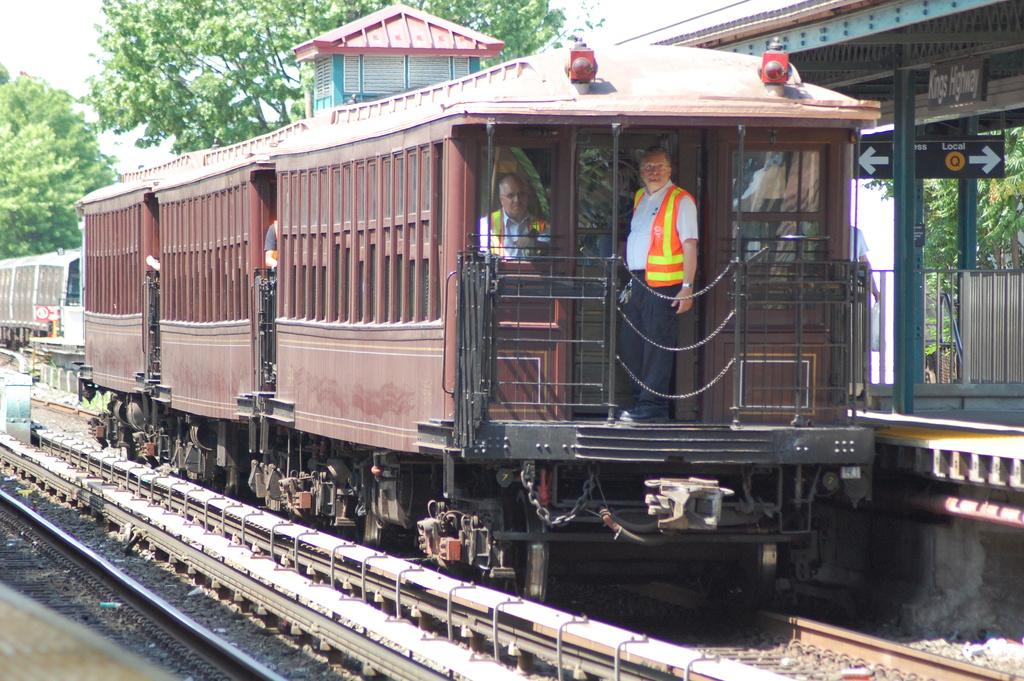 (424k, 1024x681)<br><b>Country:</b> United States<br><b>City:</b> New York<br><b>System:</b> New York City Transit<br><b>Line:</b> BMT Brighton Line<br><b>Location:</b> Kings Highway<br><b>Route:</b> Museum Train Service<br><b>Car:</b> BMT Elevated Gate Car 1404 <br><b>Photo by:</b> John Dooley<br><b>Date:</b> 6/26/2016<br><b>Viewed (this week/total):</b> 0 / 940