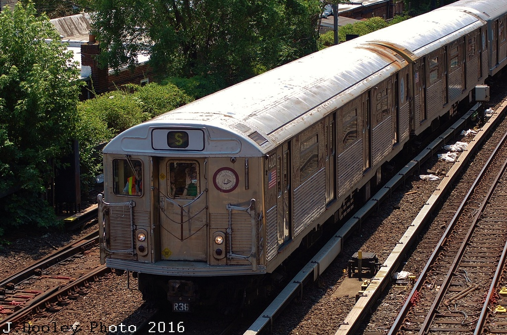 (466k, 1024x678)<br><b>Country:</b> United States<br><b>City:</b> New York<br><b>System:</b> New York City Transit<br><b>Line:</b> BMT Brighton Line<br><b>Location:</b> Kings Highway<br><b>Route:</b> Museum Train Service<br><b>Car:</b> R-38 (St. Louis, 1966-1967) 4028 <br><b>Photo by:</b> John Dooley<br><b>Date:</b> 6/26/2016<br><b>Viewed (this week/total):</b> 0 / 1121
