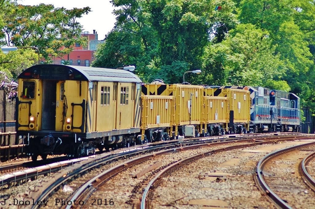 (519k, 1024x680)<br><b>Country:</b> United States<br><b>City:</b> New York<br><b>System:</b> New York City Transit<br><b>Line:</b> BMT Brighton Line<br><b>Location:</b> Sheepshead Bay<br><b>Route:</b> Work Service<br><b>Car:</b> R-161 Rider Car (ex-R-33) 408 <br><b>Photo by:</b> John Dooley<br><b>Date:</b> 6/26/2016<br><b>Viewed (this week/total):</b> 0 / 1108