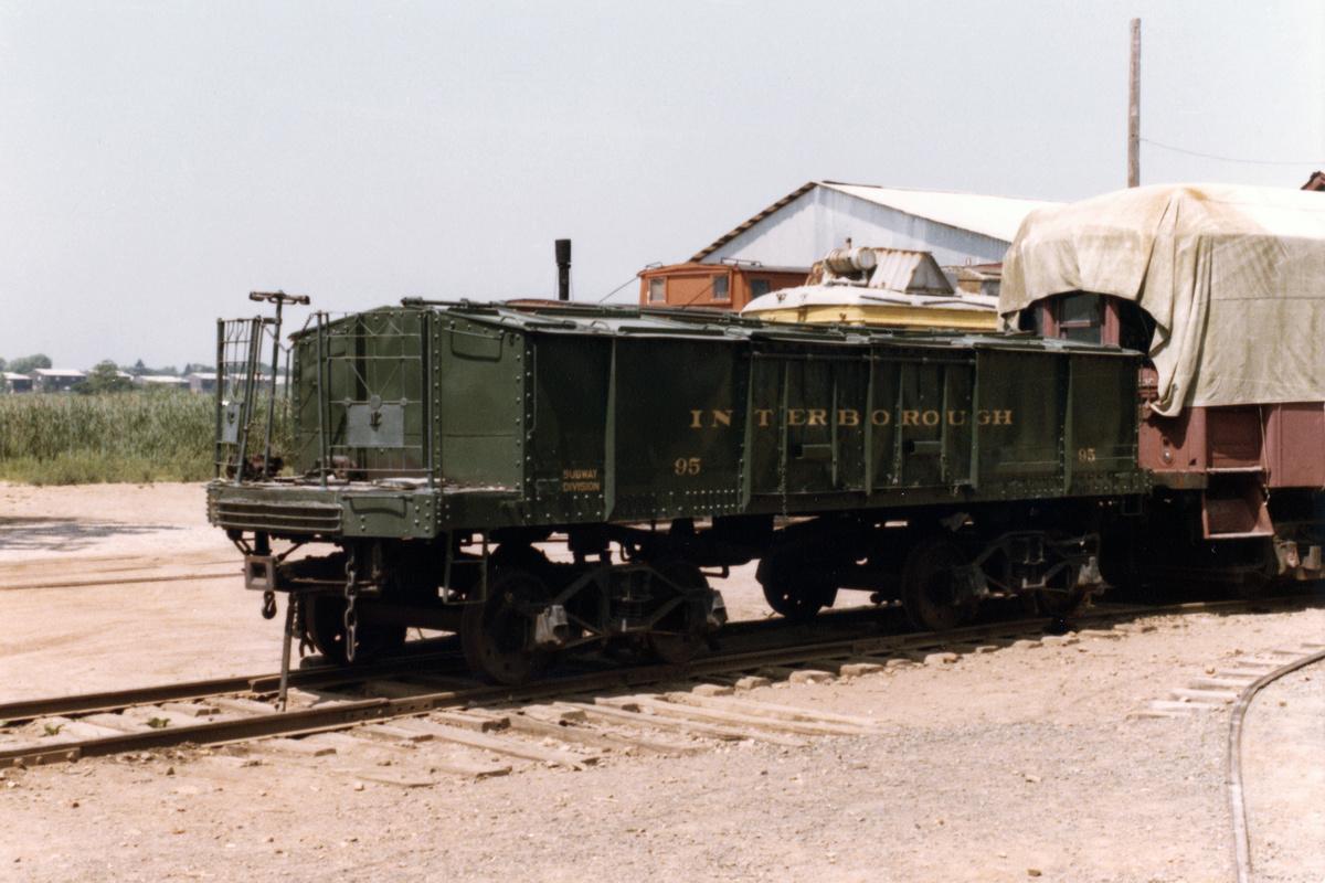 (404k, 1200x800)<br><b>Country:</b> United States<br><b>City:</b> East Haven/Branford, Ct.<br><b>System:</b> Shore Line Trolley Museum<br><b>Car:</b> IRT Covered Hopper 95 <br><b>Collection of:</b> Nicholas Fabrizio<br><b>Viewed (this week/total):</b> 0 / 241