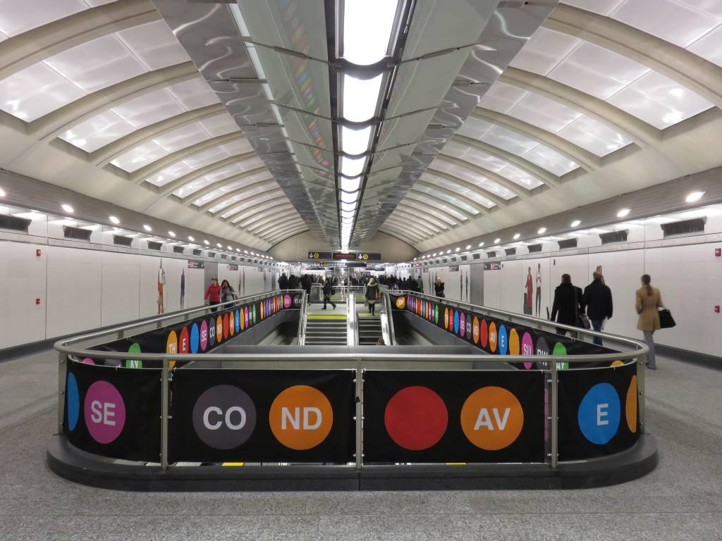 (126k, 1024x768)<br><b>Country:</b> United States<br><b>City:</b> New York<br><b>System:</b> New York City Transit<br><b>Line:</b> 2nd Avenue Subway<br><b>Location:</b> 72nd Street<br><b>Photo by:</b> Robbie Rosenfeld<br><b>Date:</b> 1/11/2017<br><b>Notes:</b> Mezzanine.<br><b>Viewed (this week/total):</b> 3 / 789