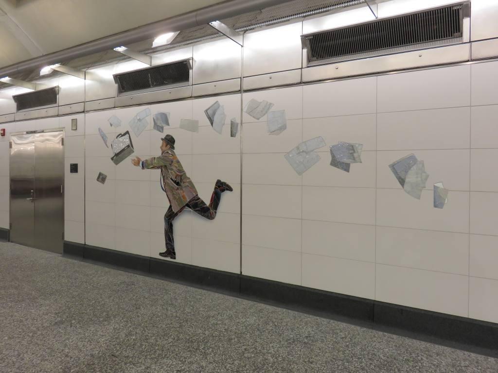 (95k, 1024x768)<br><b>Country:</b> United States<br><b>City:</b> New York<br><b>System:</b> New York City Transit<br><b>Line:</b> 2nd Avenue Subway<br><b>Location:</b> 72nd Street<br><b>Photo by:</b> Robbie Rosenfeld<br><b>Date:</b> 1/11/2017<br><b>Artwork:</b> <i>Perfect Strangers</i>, Vik Muniz, 2016<br><b>Viewed (this week/total):</b> 1 / 1009