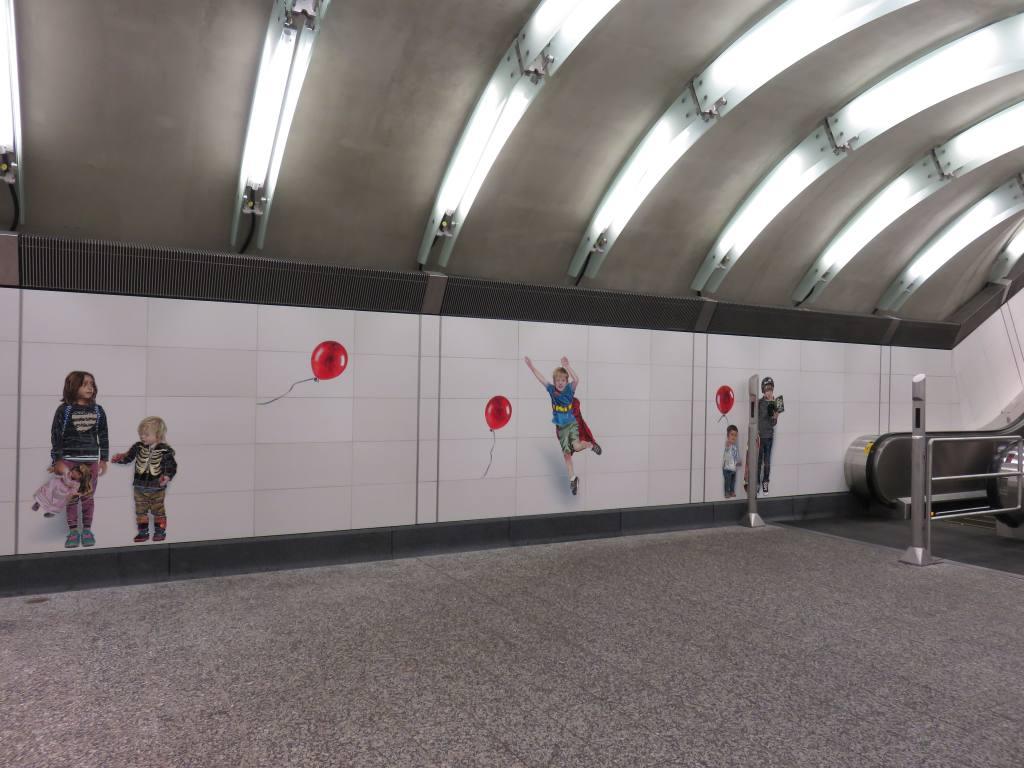 (110k, 1024x768)<br><b>Country:</b> United States<br><b>City:</b> New York<br><b>System:</b> New York City Transit<br><b>Line:</b> 2nd Avenue Subway<br><b>Location:</b> 72nd Street<br><b>Photo by:</b> Robbie Rosenfeld<br><b>Date:</b> 1/11/2017<br><b>Artwork:</b> <i>Perfect Strangers</i>, Vik Muniz, 2016<br><b>Viewed (this week/total):</b> 2 / 1285