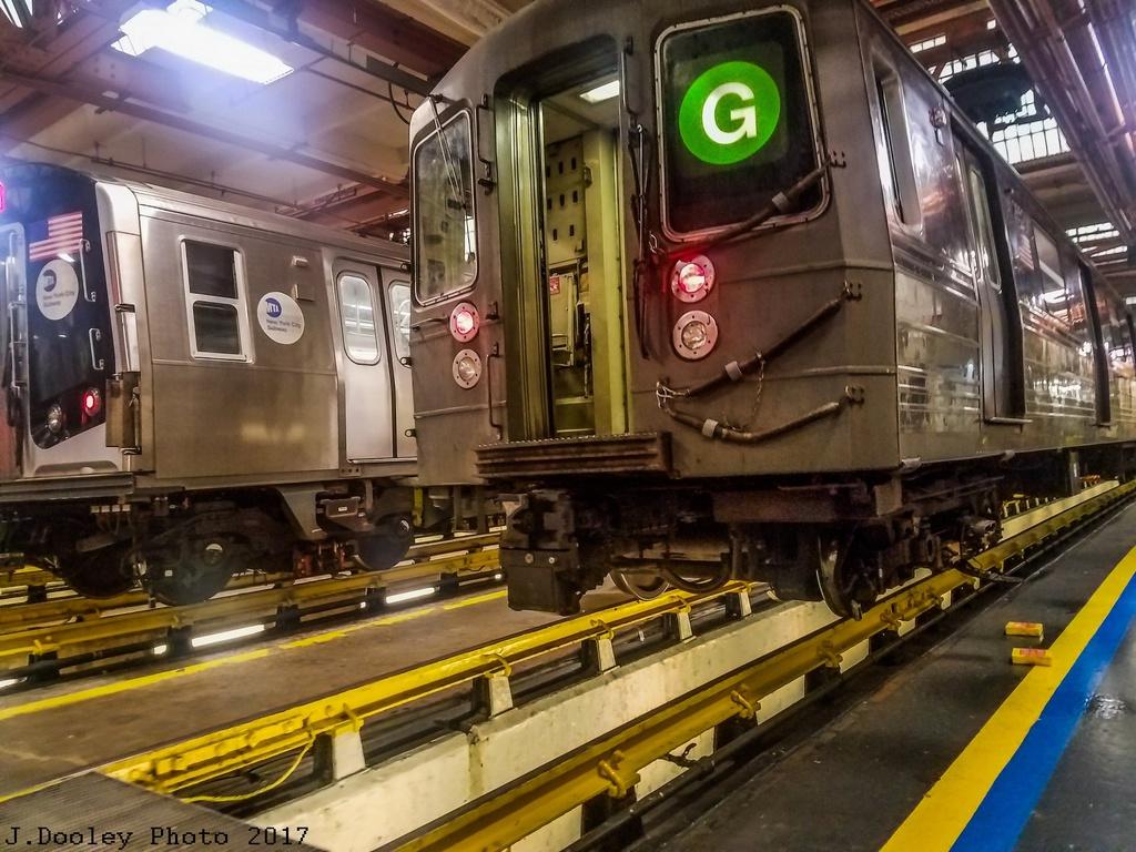 (320k, 1024x768)<br><b>Country:</b> United States<br><b>City:</b> New York<br><b>System:</b> New York City Transit<br><b>Location:</b> Coney Island Shop/Maint. & Inspection Shop<br><b>Car:</b> R-68 (Westinghouse-Amrail, 1986-1988) 2852 <br><b>Photo by:</b> John Dooley<br><b>Date:</b> 5/5/2017<br><b>Viewed (this week/total):</b> 1 / 685
