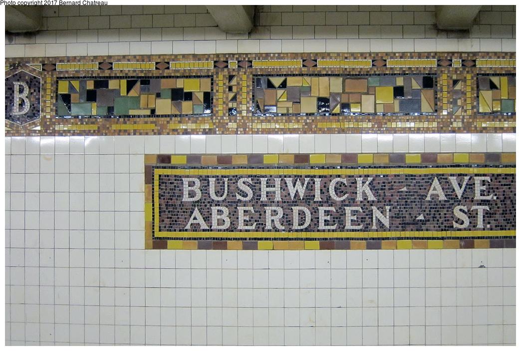 (365k, 1044x703)<br><b>Country:</b> United States<br><b>City:</b> New York<br><b>System:</b> New York City Transit<br><b>Line:</b> BMT Canarsie Line<br><b>Location:</b> Bushwick-Aberdeen<br><b>Photo by:</b> Bernard Chatreau<br><b>Date:</b> 9/25/2011<br><b>Viewed (this week/total):</b> 1 / 914