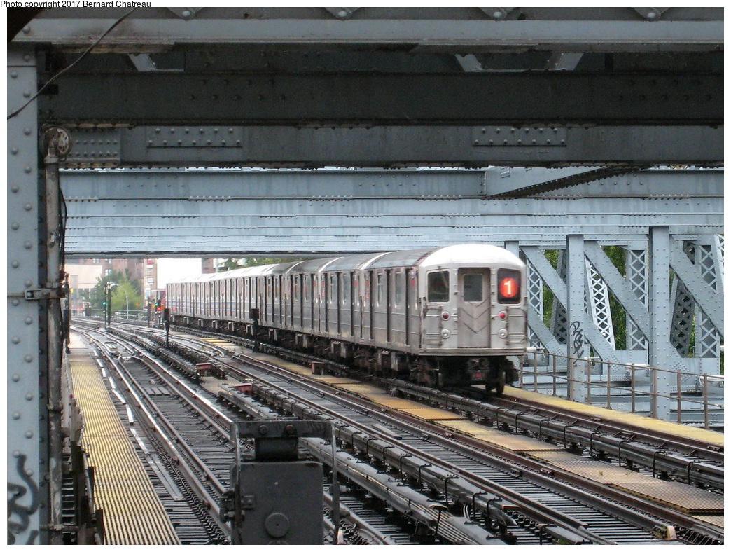 (418k, 1044x788)<br><b>Country:</b> United States<br><b>City:</b> New York<br><b>System:</b> New York City Transit<br><b>Line:</b> IRT West Side Line<br><b>Location:</b> 225th Street<br><b>Route:</b> 1<br><b>Car:</b> R-62A (Bombardier, 1984-1987)  <br><b>Photo by:</b> Bernard Chatreau<br><b>Date:</b> 9/23/2011<br><b>Viewed (this week/total):</b> 2 / 781